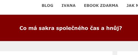 Ivana Cigánková – Co má sakra společného čas ahnůj?