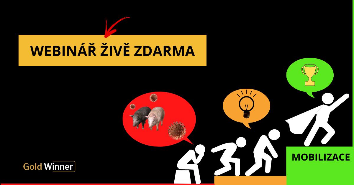 MOBILIZACE PROTI ZAVIROVANÉ SVINI! Webinář živě zdarma vúterý 7. 4. od 20:00
